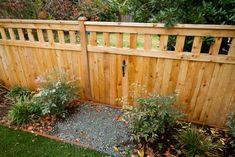 Secret gate for the kids, Laurelhurst, Ecoyards.