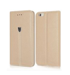 Replacement Xundo Look Leather Feel Pouch Compatible for iPhone 7 in Gold