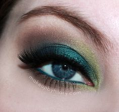 St Patrick's Day Eye Makeup http://www.makeupbee.com/look.php?look_id=80730