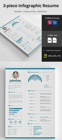 Social Media Resume Template \/ CV by Resume21 on @creativemarket - social media resume template