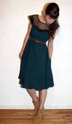 Ava dress // Victory patterns // Jolies bobines