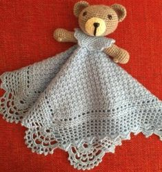 Sewing Doll Clothes, Sewing Dolls, Crochet Lovey, Crochet Toys, Chalkboard Print, Baby Lovey, Security Blanket, Baby Accessories, Crochet Projects