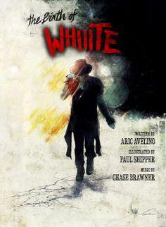 Whiiite - Comic Cover Art