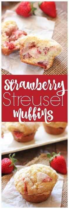If you are wanting to up your muffin making game, try these Strawberry Streusel Muffins. They are a buttermilk bakery style muffin that is perfect for weekends! | mandysrecipeboxblog.com