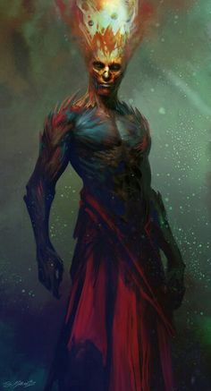 Azhor ,Dieu du Feu et de la Renaissance
