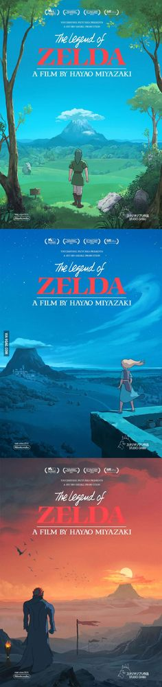 Legend of Zelda as Ghibli movie -- THIS WOULD BE EPPIIIIIIIIIICCCC