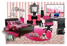 Paris inspired bedroom