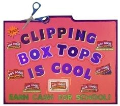 Make a Poster about Box Tops for Education, Poster Ideas, Poster Supplies