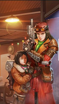 Fallout Shelter Online Hero Cards for Piper Wright Cait Curie It's cool that they have Curie's Ms. I also like that Nat is with Piper. Fallout New Vegas, Fallout 4 Cait, Fallout 4 Piper, Fallout 4 Fan Art, Fallout 4 Concept Art, Fallout Rpg, Fallout Cosplay, Fallout Game, Bioshock Cosplay
