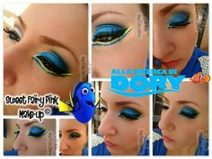 Finding Dory inspired Make-up https://m.youtube.com/user/SweetFairyPink87