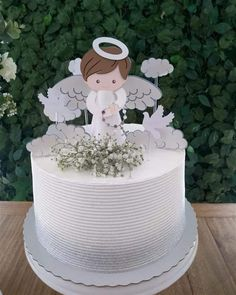 First Communion Cakes, Première Communion, First Holy Communion, Baptism Party, Boy Baptism, Christening, Baby Boy Cakes, Girl Cakes, Cakes For Boys