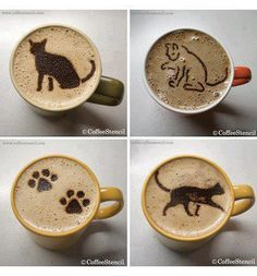 cute coffee- how do they do this?