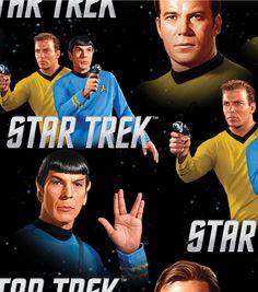 Live long and prosper :) Star Trek fabric now on joann.com & in Jo-Ann stores. #Spock