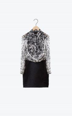 Carven - Georgette dress