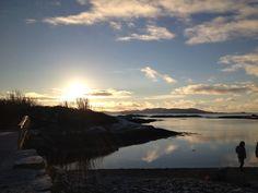 Sørstrand. Jan 2014