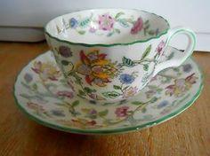 Minton haddon hall tea cup
