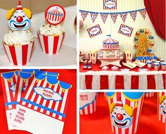 One of our newest parties that will be available on the new website #comingsoon #circus #clowns #partythemes #birthdayparty #bigtop #frolicparties