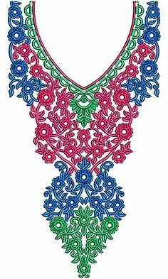 Arabic Fashion Jalabiya Embroidery Designs