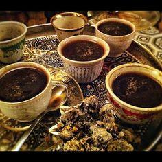 Gorgeous cups: Eritrean coffee bar #coffeeceremony