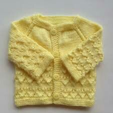 Lemon color handmade pattern with button style