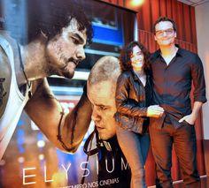 """Elysium"" com Matt Damon, Wagner Moura e Alice Braga"