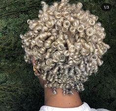 Cute short curly wigs for black women lace front wigs human hair wigs. Click picture to see Short Curly Hair, Short Hair Cuts, Curly Hair Styles, Natural Hair Styles, Curly Braids, Short Curls, Curly Wigs, Love Hair, Great Hair