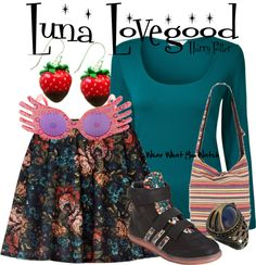 Inspired by Harry Potter character Luna Lovegood played by Evanna Lynch.