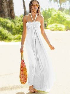 Maxi Lightly Padded Bra Top Dress - Victoria's Secret