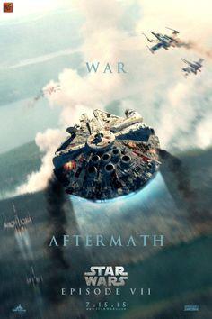 fan-made Star Wars Episode 7 posters