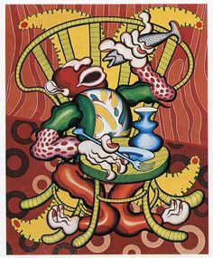Hans Krenn, Le mangeur de poissons, 1969.