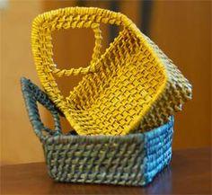 имитация плетения из травы
