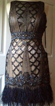 Sue Wong 1920s dress  I'm pretty sure I was supposed to have lived in the 1920s.
