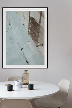 Swim ladder series by and home of Sia Arnell.   scandinavian photography, wall art, printable photo, minimalist photo, art photography, contemporary art. #contemporary #minimalist #photograph #scandinavian #scandinaviandesign #scandinavionhome #wallart #walldecor #print #poster