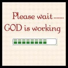 Be patient & be happy about it all for it is all working for your blessing..