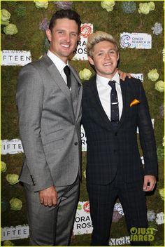 May 29th: Niall & Justin Rose at the #HoranandRose Charity Gala