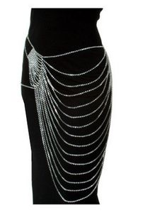 Multi Strand Necklace for your hips Raquel Barros Baker Lets make this – Body Art Body Chain Jewelry, Body Jewellery, Jewelry Box, Jewelery, Jewelry Accessories, Jewelry Design, Jewelry Making, Silver Jewelry, Body Chains
