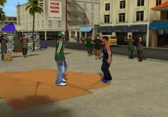 Environment from 'B-Boy' on PS2