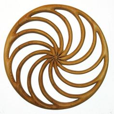 MEANING: A primitive calendar, the Wheel of the Year conveys the cyclical nature of all things.    THE CARVING: My Carvings are single pieces of western red cedar, designed and carved to be wall hangi