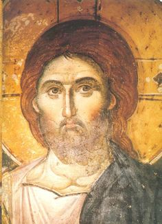 Manuil Panselinos, the famous and mysterious iconic master Christ Pantocrator, Pictures Of Jesus Christ, Religion Catolica, Our Lady Of Lourdes, Jesus Face, Religious Paintings, Byzantine Art, Chef D Oeuvre, Religious Icons