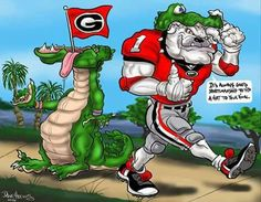 Love it Bulldog Wallpaper, Georgia Bulldogs Football, Bulldog Mascot, Sports Art, Funny Pictures, Drawings, Animals, Fictional Characters, Cadillac Fleetwood