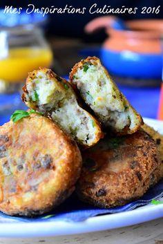 Maakouda à la viande hachée Appetizer Recipes, Appetizers, Pretzel Bites, Baked Potato, Sausage, Cooking Recipes, Bread, Breakfast, Ethnic Recipes
