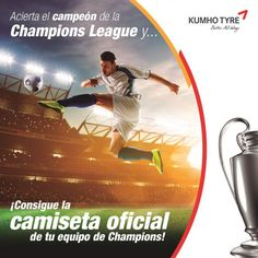 Kumho, ¡con la Champions!