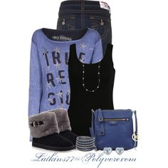 True Religion, created by latkins77 on Polyvore