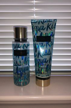Victoria's Secret Fragrance Mist & Fragrance Lotion Aqua Kiss Shimmer Both products were used a few times Loción Victoria Secret, Victoria Secret Body Spray, Victoria Secret Fragrances, Victoria Secret Perfume, Fragrance Lotion, Fragrance Mist, Parfum Victoria's Secret, Bath And Body Works Perfume, Makeup Products