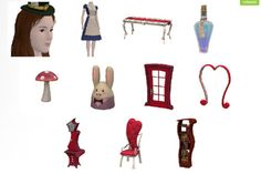 Cindy Games: Alice in Wonderland Downloads for The Sims 3 (DOWN...