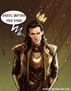 Loki by Niiinai