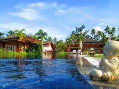 The pool at the Villaguna Resort, Yao Noi, Thailand