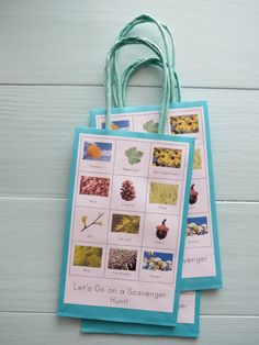 Super cute Birthday party idea (or part of our summer adventures)....Let's go on a scavenger hunt!
