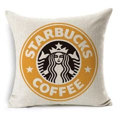 Wholesale Letter Green Coffee Pillow Cover Linen Cotton Linen Cotton Home Decor Pillow Sham Decorative Pillow Case Car Cushions