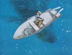 """The Big Fish"" - Julio Larraz"